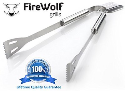 Barbeque Tongs by FireWolf Grills