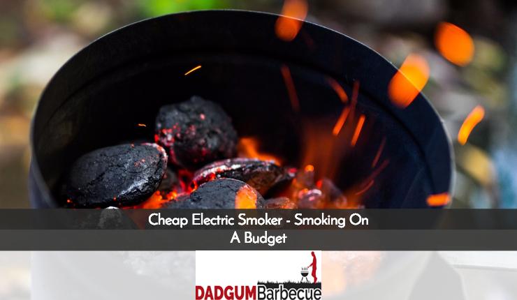 Cheap Electric Smoker guide