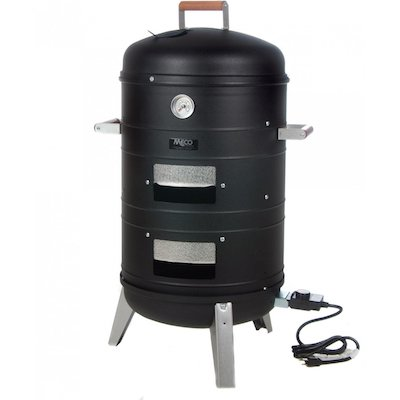 Meco Deluxe 2-in-1 Electric Water Smoker