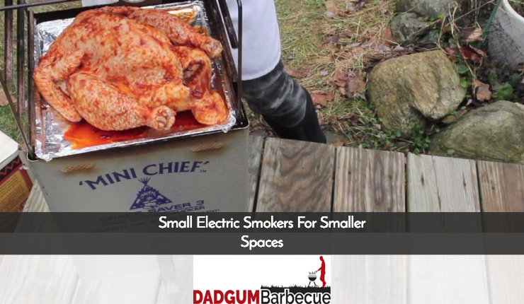 Small Electric Smokers For Smaller Spaces
